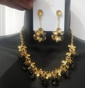 NWT kate Spade jewelry set blooming autumn flowers
